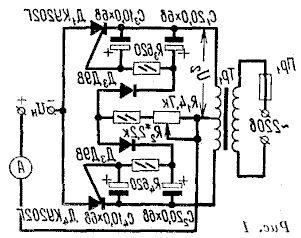 Проверка тестером электронных компонентов